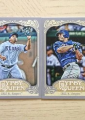 2012 Topps Gypsy Queen Nelson Cruz Base Card