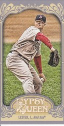 2012 Topps Gypsy Queen Jon Lester Mini Sp