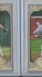 2012 Topps Gypsy Queen Gio Gonzalez Mini Variation