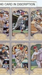 2012 Topps Gypsy Queen Tony Gwynn SP Mini Variation #252