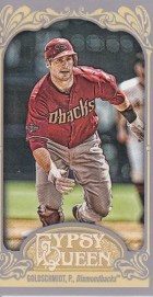 2012 Topps Gypsy Queen Paul Goldschmidt Mini Sp