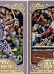2012 Topps Gypsy Queen Justin Upton Base
