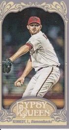2012 Topps Gypsy Queen Ian Kennedy Mini