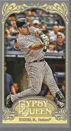 2012 Topps Gypsy Queen Mark Teixeira Mini Sp