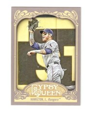 2012 Topps Gypsy Queen Josh Hamilton Sp Variation