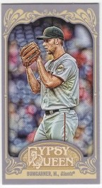 2012 Topps Gypsy Queen Madison Bumgarner Mini Sp