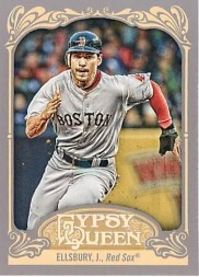2012 Topps Gypsy Queen Jacoby Ellsbury Base Card