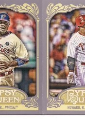 2012 Topps Gypsy Queen Ryan Howard Sp Variation Card