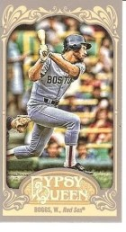 2012 Topps Gypsy Queen Wade Boggs Mini