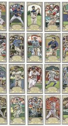 2012 Topps Gypsy Queen Dustin Pedroia Base Mini Card