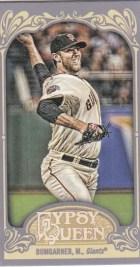 2012 Topps Gypsy Queen Madison Bumgarner Mini
