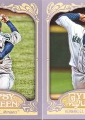 2012 Topps Gypsy Queen Felix Hernandez Sp Photo Variation Card