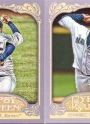 2012 Topps Gypsy Queen Felix Hernandez Base Card