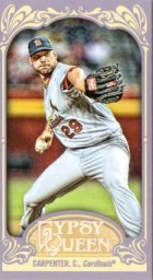2012 Topps Gypsy Queen Chris Carpenter Mini