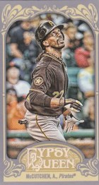 2012 Topps Gypsy Queen Andrew McCutchen Mini Sp