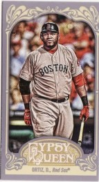 2012 Topps Gypsy Queen David Ortiz Mini Sp