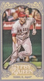 2012 Topps Gypsy Queen Mark Trumbo Mini Sp