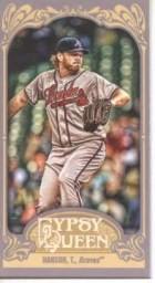 2012 Topps Gypsy Queen Tommy Hanson Sp Mini