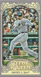 2012 Topps Gypsy Queen Victor Martinez Mini