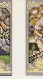 2012 Topps Gypsy Queen Dan Uggla Sp Mini