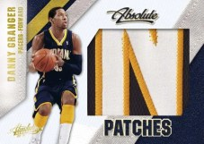 09/10 Panini Absolute Memorabilia Danny Granger Patches