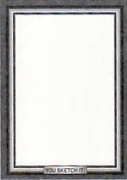 2010 Topps Baseball Series 2 Sketch Card