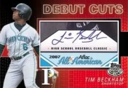 2010 Topps Pro Debut Baseball MILB Cuts Trading Cards