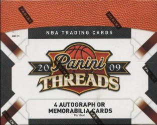 09/10 Panini Threads Basketball Box Checklist
