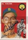 1954 Topps Baseball Al Kaline #201
