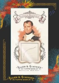 Napolean Bonaparte 2009 Allen & Ginter DNA Card