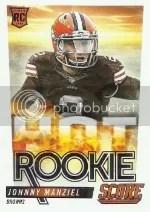 2014 Score Hot Rookies Johnny Manziel