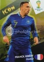 2014 Adrenalyn World Cup Icon Franck Ribery
