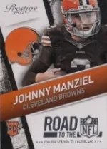 2014 Prestige Johnny Manziel Road to NFL
