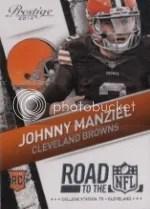 2014 Prestige Johnny Manziel Road to NFL