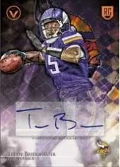 2014 Topps Valor Teddy Bridgewater RC Auto