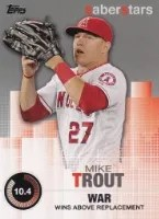 2014 Topps Series 2 Mike Trout Saber Stars