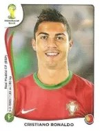 2014 Panini World Cup Ronaldo Sticker