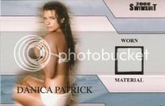 Danica Patrick Si bikini card