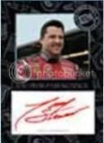 2010 Press Pass Stealth Tony Stewart Autograph