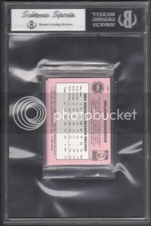 1984/85 Star Chicago Bulls Sealed Bag Back Graded