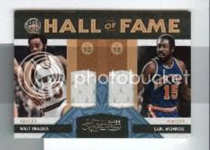 09/10 Panini Timeless Treasures Walt Frazier Earl Monroe Dual