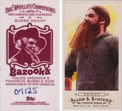 Burke Kenny 09 Allen & Ginter Bazooka Back