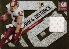2010 Donruss Elite Chris Cooley Down & Distance Jersey