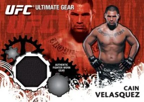 2010 Topps UFC Ultimate Gear Cain Velasquez Relic