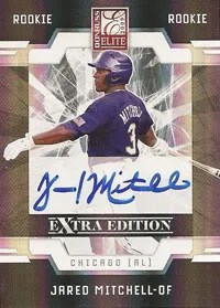 Jared Mitchell 2009 Donruss EEE Elite Extra Edition Autograph RC Rookie