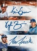 2013 Bowman Inception Triple Autograph