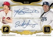 2013 Topps Tier One Dual Autograph