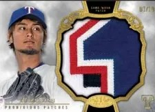 2013 Topps Tier 1 Yu Darvish Patch