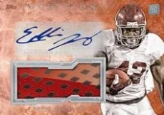2013 Topps Inception Eddie Lacy Glove Parallel