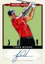 2013 Goodwin Tiger Woods Sports Royalty